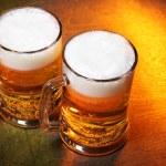 Beer mugs — Stock Photo #4579778