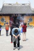 Longhua buddhist temple — Stock Photo