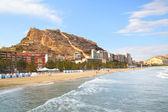 Beach in Alicante — Stock Photo
