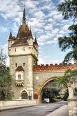 Castelo de vajdahunyad — Foto Stock