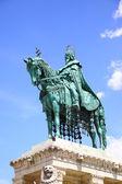 Posąg świętego stefana — Zdjęcie stockowe