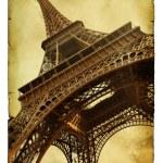 Postcard with Eiffel towe — Stock Photo #5268831