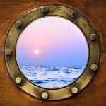 Boat porthole — Stock Photo #6061883