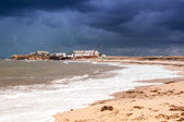 View of stormy seascape. — Stock Photo