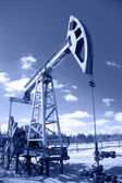 Pump jack. — Stock Photo