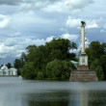 Park at Tsarskoye Selo — Stock Photo #13855125