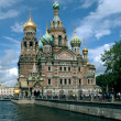 Church of the Savior on Spilled Blood - Stok fotoğraf