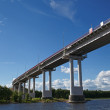 Vyborg, Leningrad Oblast. Friendship Bridge — Stock Photo #14684205