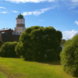 Vyborg Castle — Stock Photo