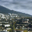 View of the sea coast of Yalta — Stock Photo