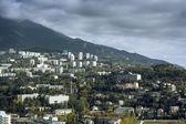 View of the sea coast of Yalta — Stock Photo