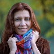 Beauty redheaded woman — Stock Photo