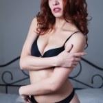 Beauty woman in bedroom — Stock Photo #27154047
