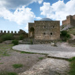 Stock Photo: Genoese fortress in Crimea