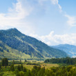 Altai mountain under blue sky — Stock Photo