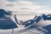 Snow dunes — Stock Photo