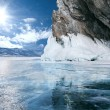 Lake Baikal in winter — Stock Photo