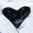 Stock Photo: Ice heart