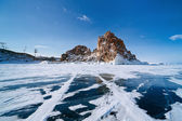 Landscape of Lake Baikal — Stock Photo
