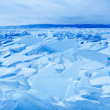 Landscape on lake Baikal — Stock Photo