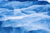Ice of Baikal — Stock Photo