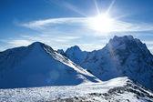 Snow mountain — Fotografia Stock