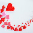 Red heart background — Stock Photo #40478047