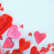 Red heart background — Stock Photo #40478123