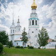 Cathedral bell tower of St. Sophia Cathedral in Vologda — Stock Photo #41217687
