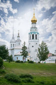 Cathedral bell tower of St. Sophia Cathedral in Vologda — 图库照片