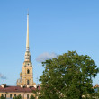 Peter and Paul Fortress in Saint-Petersburg — Stock Photo