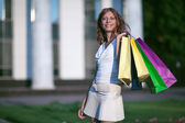 Bauty shoping woman — Stock Photo