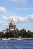St. Isaac's Cathedral in Saint Petersburg — Stock Photo