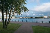 Neva river in Saint Petersburg — Photo