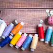 Thread and sewing — Stock Photo