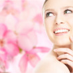 Close-up beauty girl portrait — Stock Photo #44541237