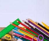 Items for children's creativity — 图库照片