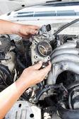 Repair car — Stock Photo