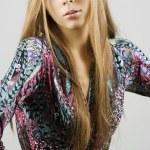 Stylish glamour girl — Stock Photo #1543102