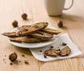 Italian biscotti — Stock Photo