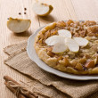 Apple pie with cinnamon - Stock Photo