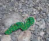 Beach sandals — Stock Photo