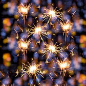Sparklers background — Foto de Stock