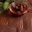 Confiture from fir cones — Stock Photo