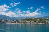 Yalta coast, Crimea — Stock Photo