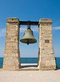 Big bell in the Chersonesus in Crimea — Stock Photo