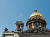 St Isaac's Cathedral in St Petersburg — Stock Photo