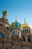 Savior on Blood Cathedral in St Petersburg — Stock Photo