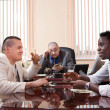 Gangsters in the office — Stock Photo