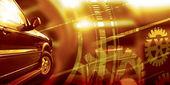 Car service concept — Stock Photo